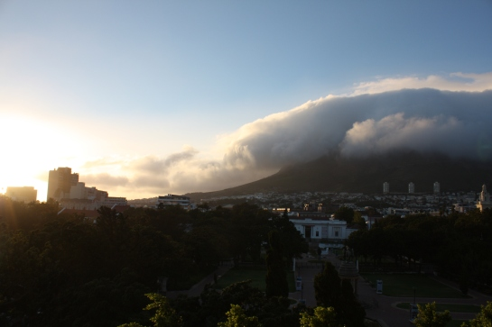 Table Mountain balcony view