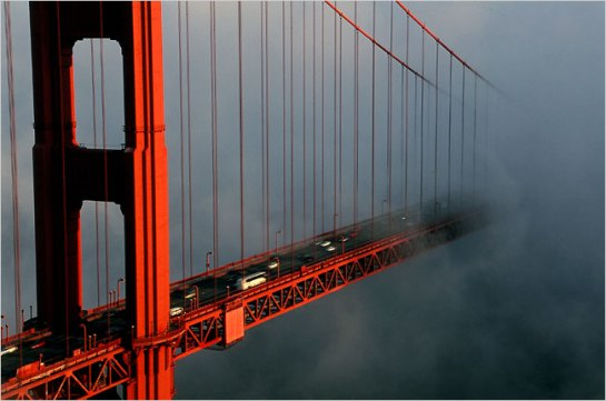GG Bridge fog